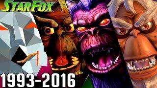 Evolution of Andross Battles in Star Fox Games (1993-2016) - dooclip.me