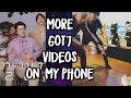Apparently I have 500 MORE Got7 videos on my phone now so here are the best ones Phone Vids 4