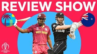 The Review - West Indies V New Zealand | With Brathwaite And Williamson Interview | ICC World Cup