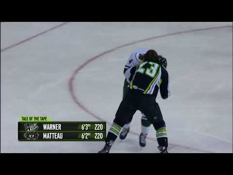 Stefan Matteau vs. Hunter Warner