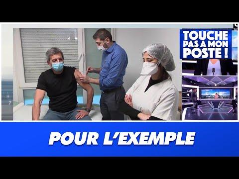 Ces personnalités qui se font vacciner en direct à la télévision : Michel Cymes, Jean-Michel Cohen..