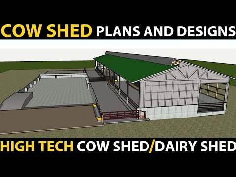 , title : 'Cow Shed Plans And Designs | Dairy Farm Business | Cattle Shed Design | High Tech Cowshed