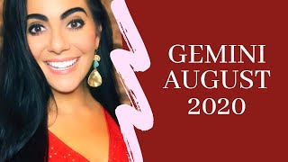 GEMINI AUGUST 2020: SOMEONES CONFIDENCE SOARS! TRUE LOVE! Love & General Horoscope.