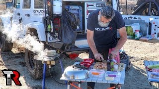 LET'S EAT!  - Camp Cooking In Baja