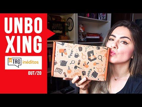 Unboxing TAG INÉDITOS | Edição OUTUBRO 2020