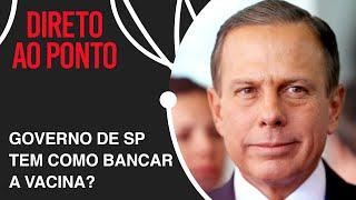 """""""Bolsonaro erra ao dizer que é a 'vacina do Doria'"""", afirma governador de SP"""