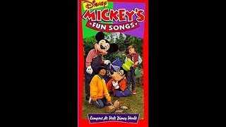 Mickey's Fun Songs - Campout at Walt Disney World [1994] full in HD