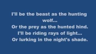 Falconer -- Entering Eternity -- with lyrics