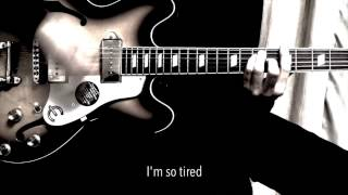 I'm So Tired - The Beatles karaoke cover