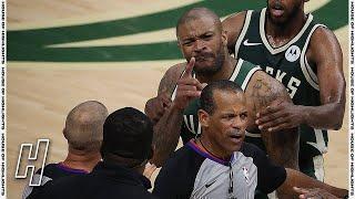 تم تعليق حارس Kevin Durant الشخصي لسلسلة Nets-Bucks للدفع PJ Tucker