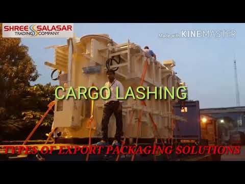 Cargo Container Lashing Service