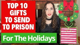 TOP 10 GIFTS TO SEND TO PRISONERS for THE HOLIDAYS | Vlogmas Day 11