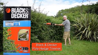 Black and Decker Pole Trimmer