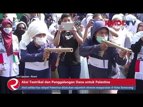 Aksi Teatrikal dan Penggalangan Dana untuk Palestina