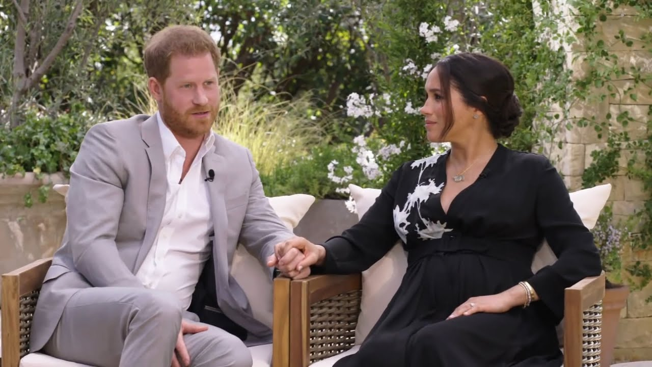 Image of The secret messages in Prince Harry and Meghan's Oprah interview
