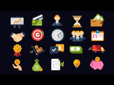 mp4 Business And Finance Icons, download Business And Finance Icons video klip Business And Finance Icons
