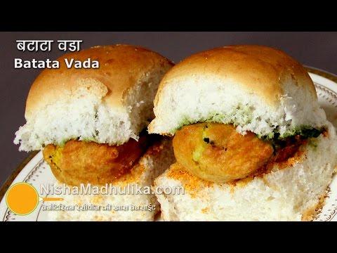Mumbai Vada Pav – Batata Vada Pav Recipe – Aloo vada Pav