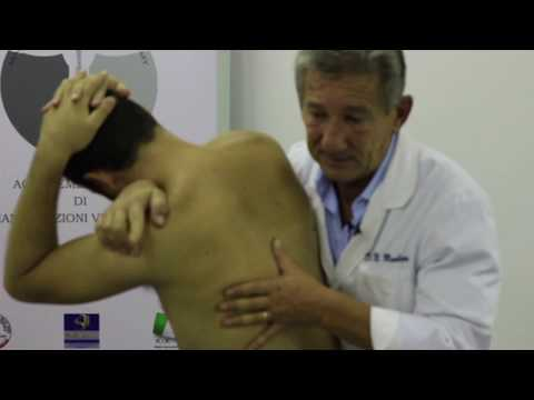 Set video di esercizi in osteocondrosi vertebrale