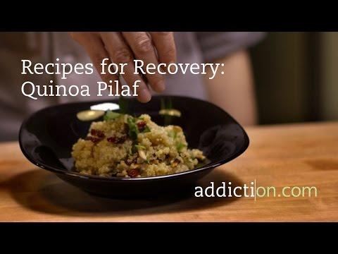 Recipes for Recovery: Quinoa Pilaf