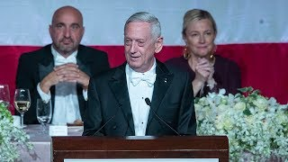 video: James Mattis mocks Donald Trump over not fighting in Vietnam