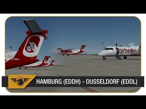 Download] [Prepar3D] | Majestic Q400 | BER377C | Air Berlin | VATSIM