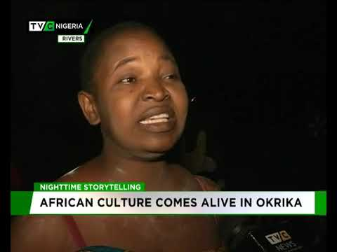 Night Story telling: African Culture comes alive in Okirika