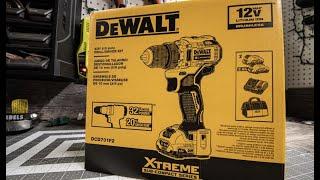 Dewalt Extreme Drill Unboxing/Test