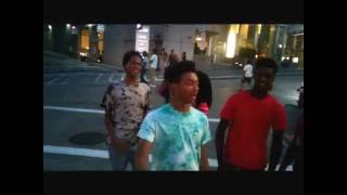 No Reason Riot , Black Teen Streetfight  Pittsburgh August 7 2016