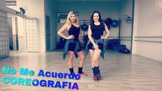 No Me Acuerdo - Thalía y Natti Natasha - COREOGRAFIA FITNESS