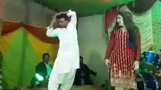 Pakistani Girl dance with Boy in Wedding Function.