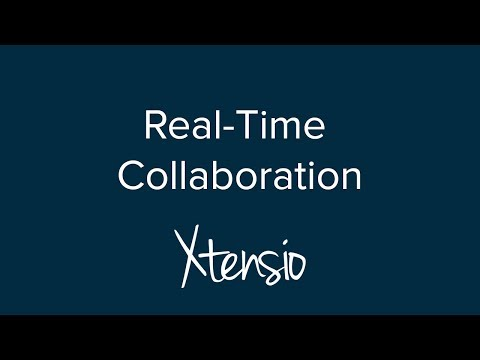 Real Time Collaboration with Xtensio