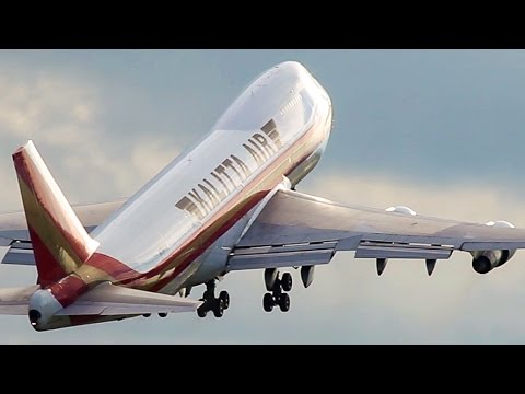 LAST BOEING 747-200 DEPARTURE - END of an ERA