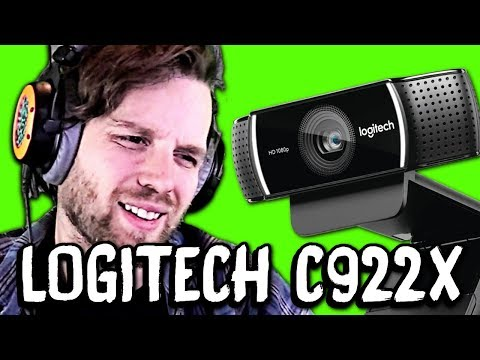 NO GREENSCREEN NEEDED?! Logitech C922X Webcam Review & Comparison Vs C920