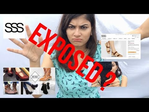 SSS Streetstylestore Flats, Heels & Boots REVIEW (Selling used footwear ? ) *EXPOSED*