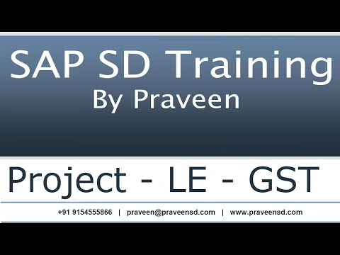 SAP SD Training for Beginners to became 4 years real time ...