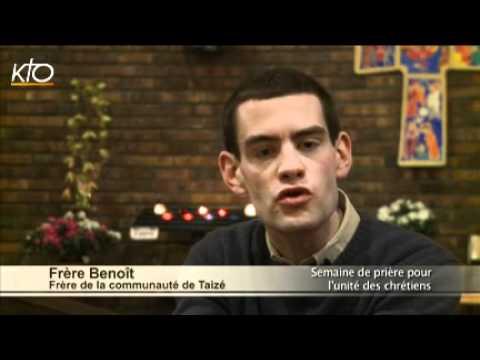 Frère Benoît de la Communauté de Taizé