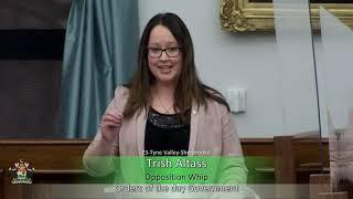 Response to the Speech from the Throne (MLA Trish Altass)