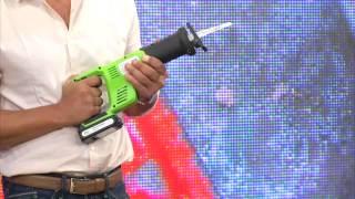 AGT Professional Akkuschrauber-Set mit Li-Ion-Akku, Schnell-Ladegerät