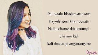 Be Free (Original) | Pallivaalu Bhadravattakam (Vidya Vox Mashup Cover) (ft. Vandana Iyer)(Lyrics)