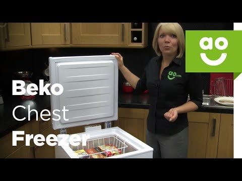 Beko Chest Freezer CF374W_WH Review | ao.com