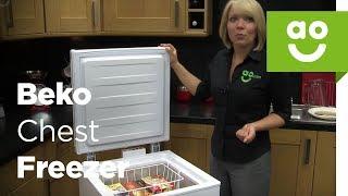 Beko Chest Freezer CF374W_WH Review | Ao.com