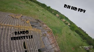 Another day, another bando freestyle - DJI HD FPV