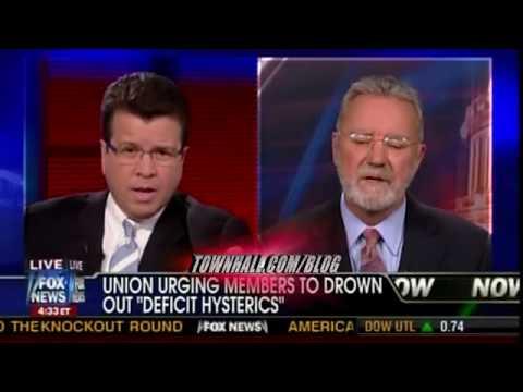 Neil Cavuto fox news get's called an ass hole