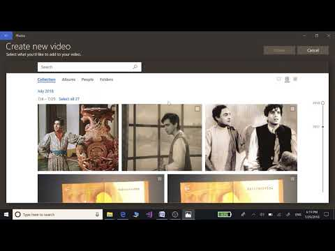 Upload mp3 audio song file on YouTube. Convert mp3 audio to mp4 video file on Windows 10