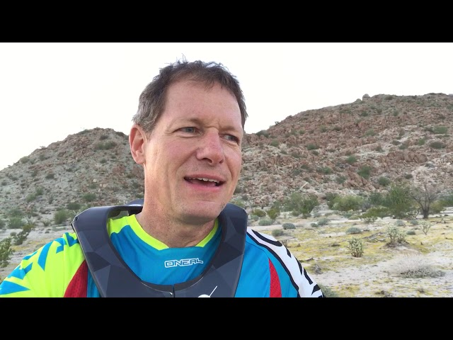 Larry set a personal goal to complete the Baja 1000 as a solo rider. His message in the video is...