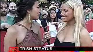 Trish Stratus 2007 Walk of Fame Red Carpet interview
