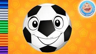 Футбик веселый мячик — лепим Футбика из пластилина
