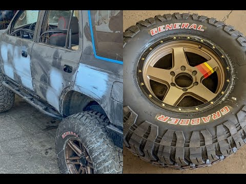 Overhauling a 3rd gen 4Runner Part 2: New Paint & Wheels/Tires