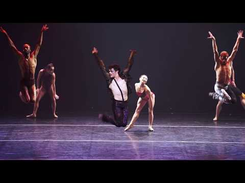 Complexions contemporary ballet dancers in Star Dust