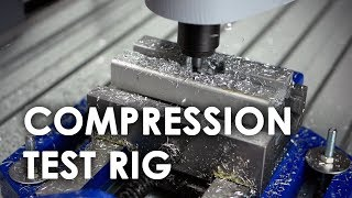 Machining a Compression Test Jig for 3D printed Infill Pattern Testing
